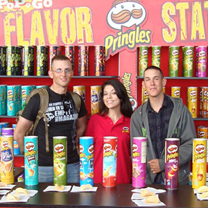 Marketing Connections - Pringles Station